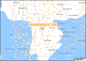 map of Muhammad Kutria