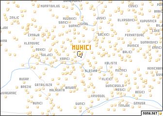 map of Muhići