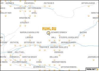 map of Mühlau