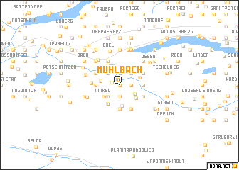 map of Mühlbach