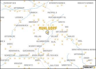 map of Mühldorf