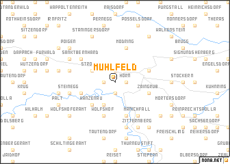 map of Mühlfeld