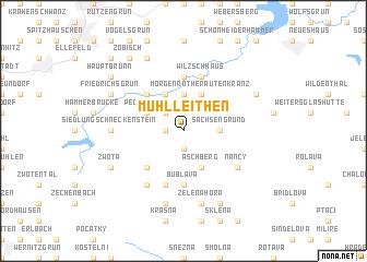 map of Mühlleithen