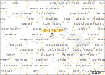 map of Mühlsdorf