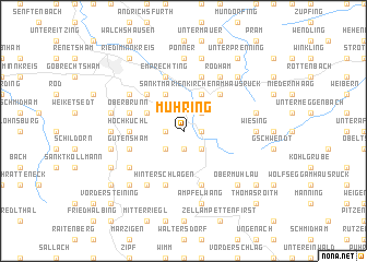 map of Mühring