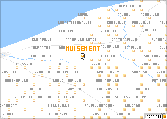 map of Muisement
