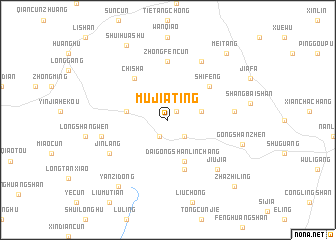 map of Mujiating