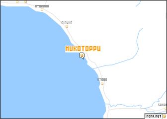 map of Mukōtoppu