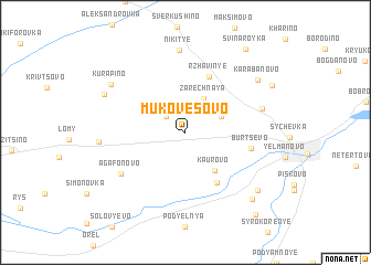 map of Mukovesovo