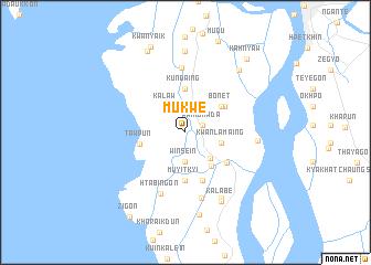 map of Mukwe