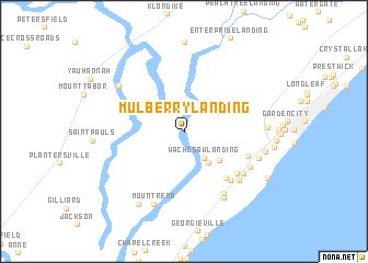 map of Mulberry Landing