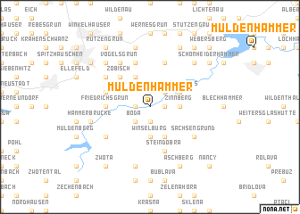 map of Muldenhammer
