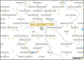 map of Muldenhütten