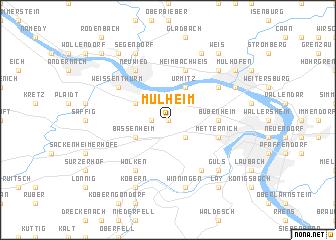 Mülheim Germany Map Nonanet - Germany map hd image