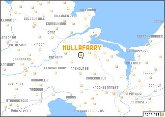 map of Mullafarry