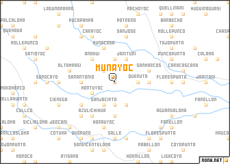 map of Muñayoc