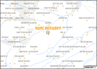 map of Münchendorf