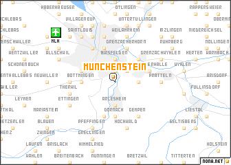 map of Münchenstein