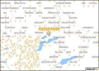 map of Mundenham