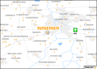 map of Mundenheim