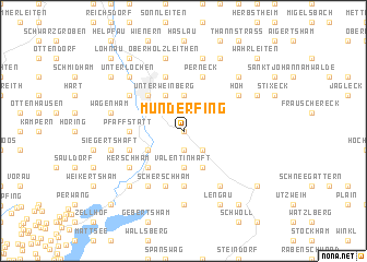 map of Munderfing