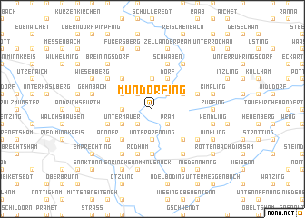 map of Mundorfing
