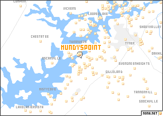 map of Mundys Point