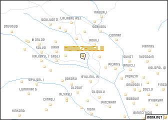 map of Mundzhuglu