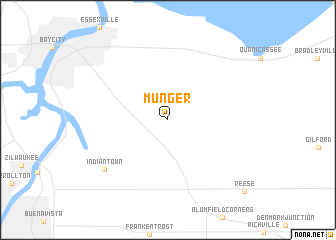 map of Munger