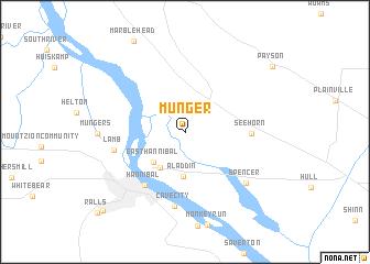 map of Munger