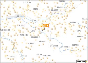map of Munići