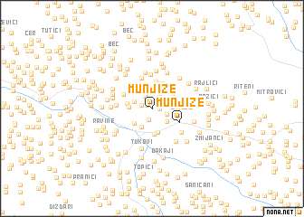 map of Munjize