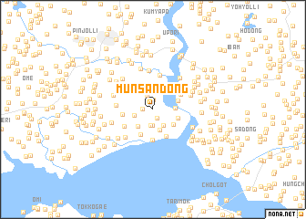 map of Munsan-dong