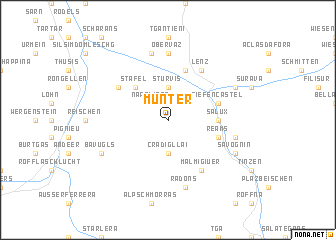 map of Munter