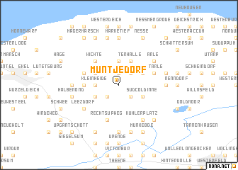 map of Müntjedorf