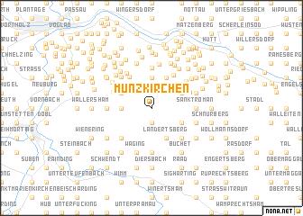 map of Münzkirchen