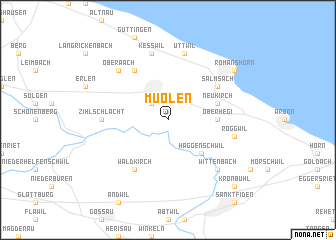 map of Muolen