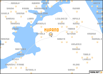 map of Mupano