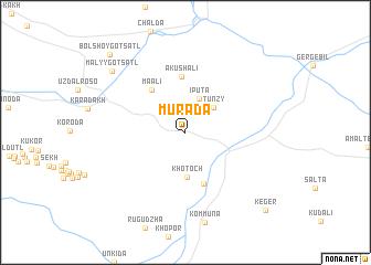map of Murada