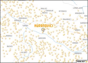 map of Muranovići