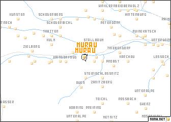 map of Murau