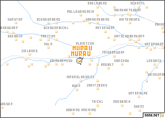 map of Murau