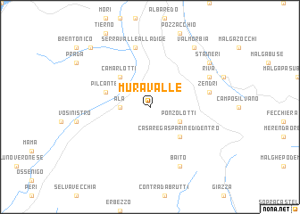 map of Muravalle