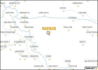 map of Murava