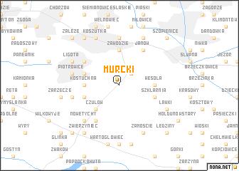 map of Murcki