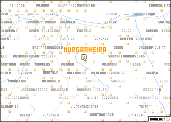 map of Murganheira