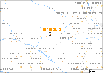 map of Muriaglio