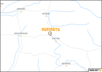 map of Murimotu