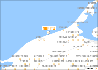 map of Müritz