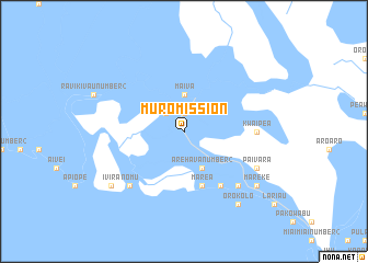 map of Muro Mission